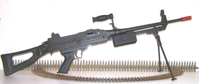 belt fed machine guns